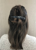 Ficcare Maximas Hair Clip in Black Moon and Silver