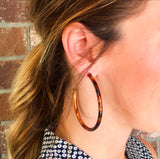 Sheila Fajl 2.25 Everybody's Favorite Hoop Earrings in Burnished Gold