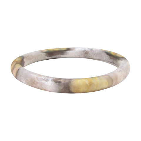 Sheila Fajl Everybody's Favorite Tubular Bangle in Burnished Silver