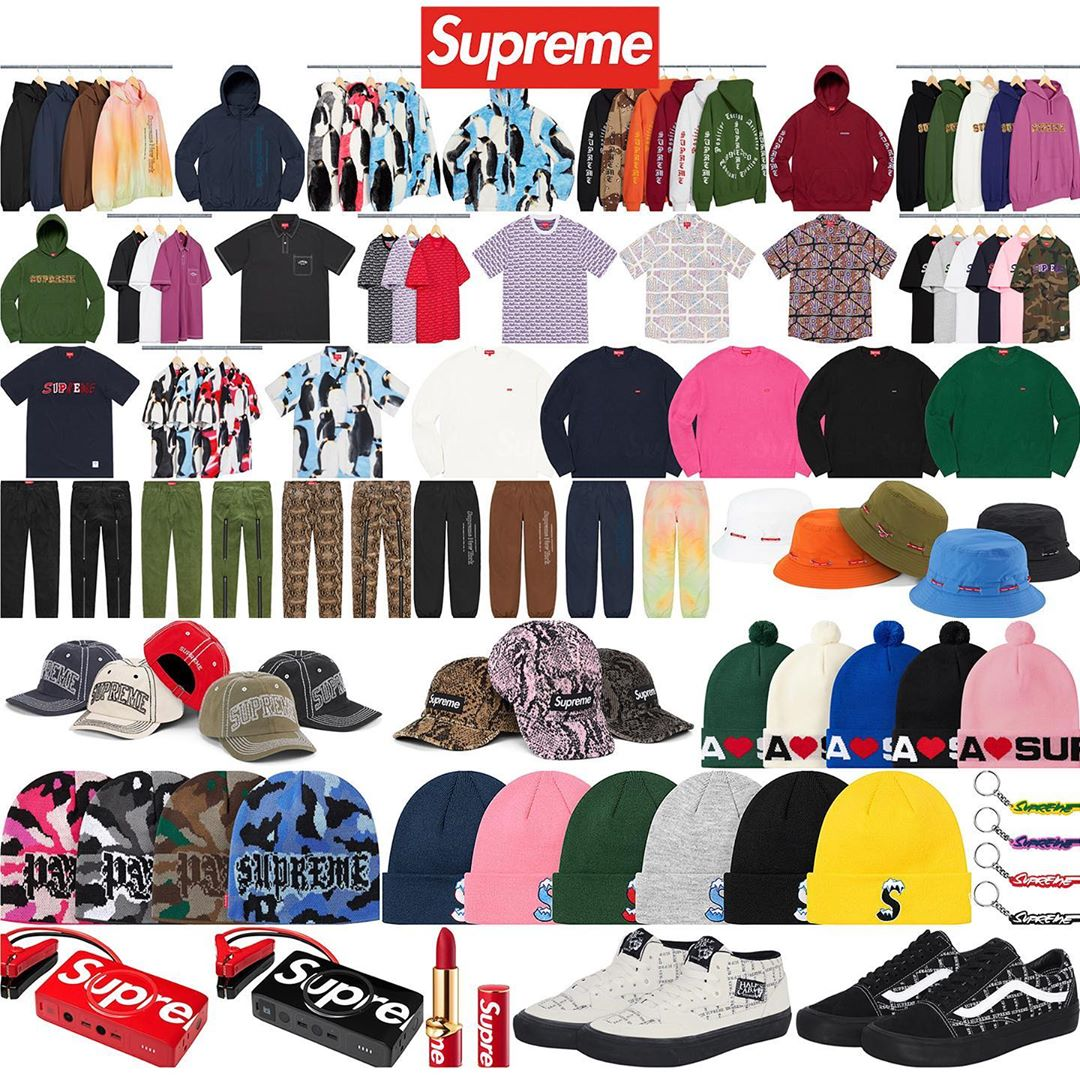 Supreme Week 3 Retail Prices and Droplist (FW20)