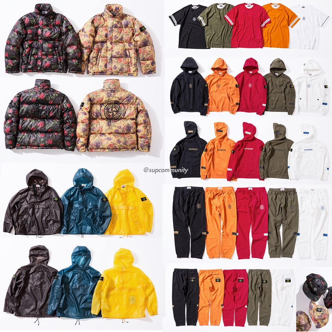 Supreme Week 7 FW17 Retail Prices & Droplist
