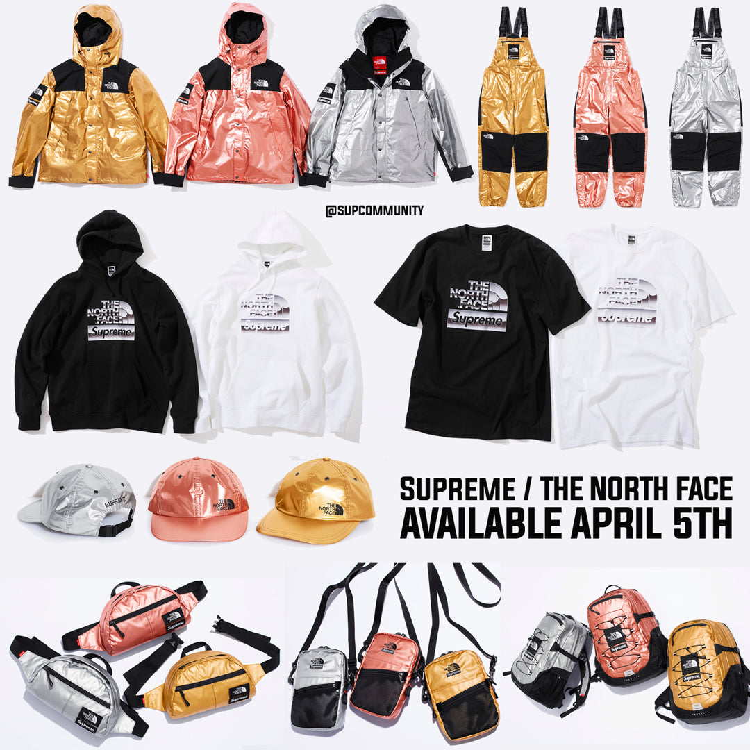 6aedaffcf457 Supreme Week 7 Retail Prices and Droplist (SS18) - The North Face ...