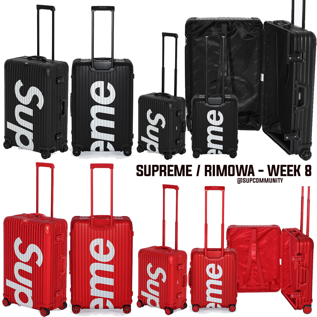 6d4afc98f Supreme Week 8 Retail Prices and Droplist (SS18) - RIMOWA | ForceCop
