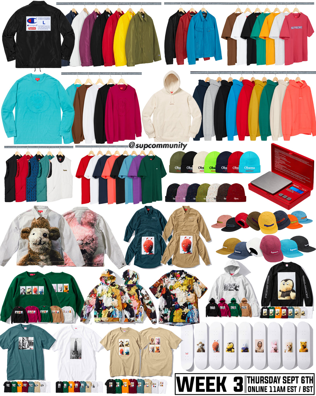 Supreme Setup Guide & Keywords Week 3 FW18