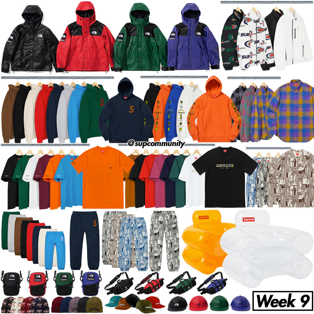 Supreme Setup Guide & Keywords Week 9 FW18