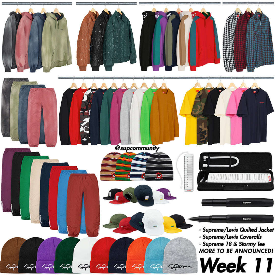 Supreme Setup Guide & Keywords Week 11 FW18