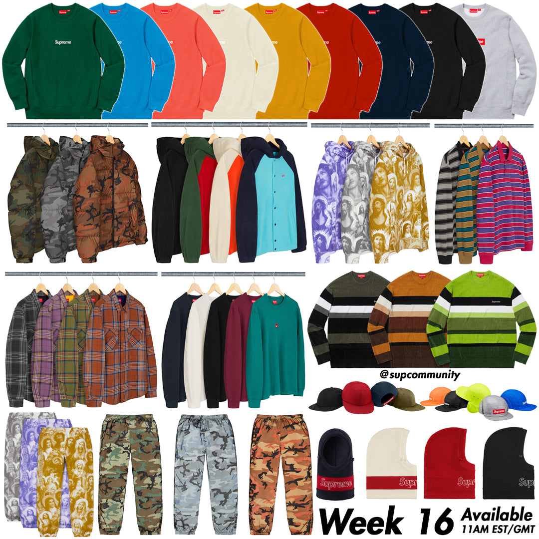 Supreme Setup Guide & Keywords Week 16 FW18 - Box Logo