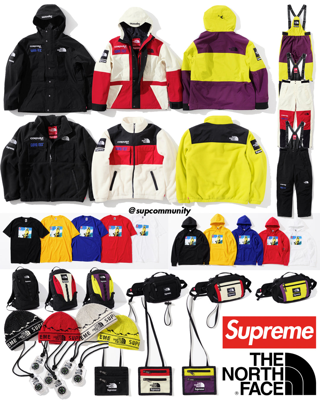 Supreme Week 15 Retail Prices and Droplist - The North Face