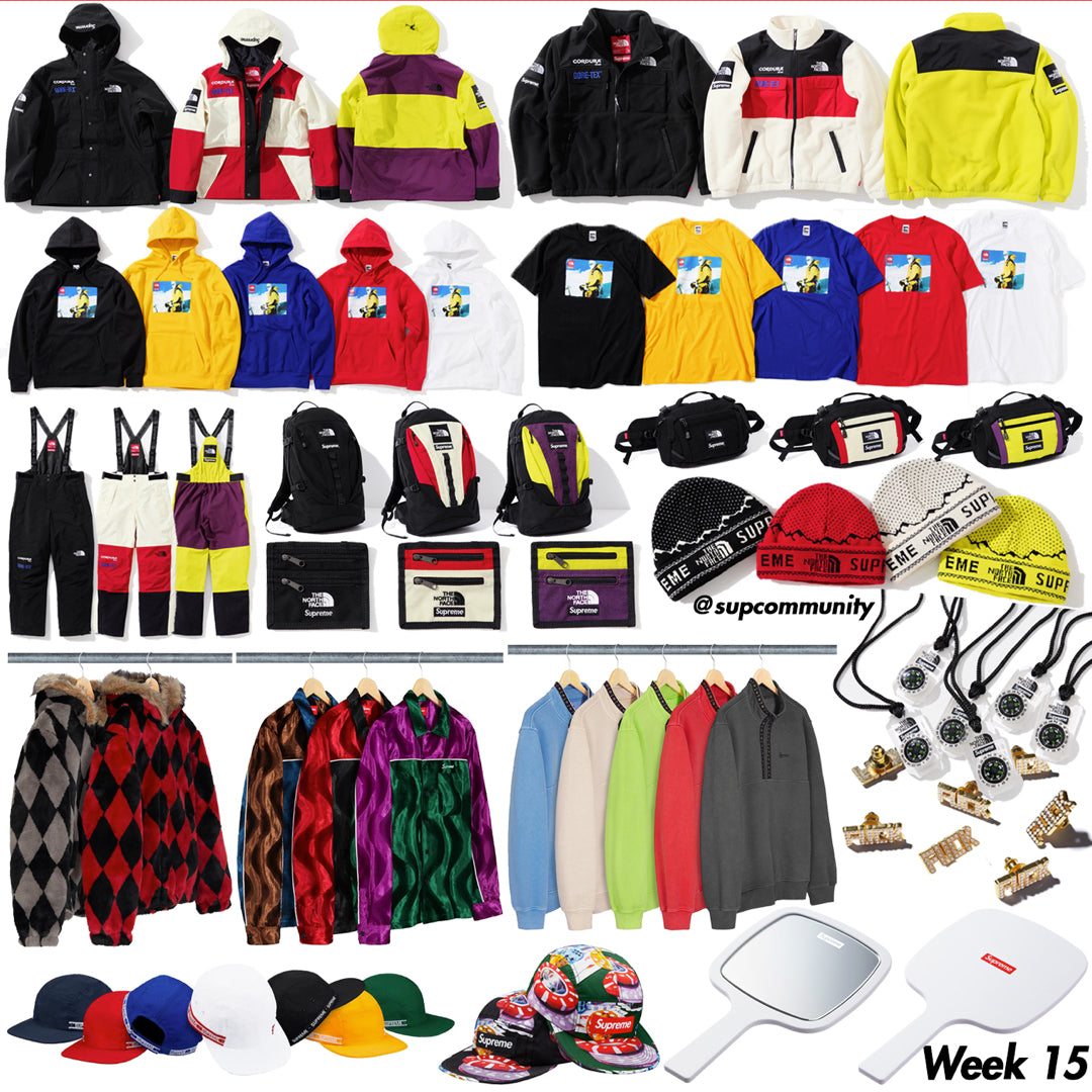 Supreme Setup Guide & Keywords Week 15 FW18 - The North Face