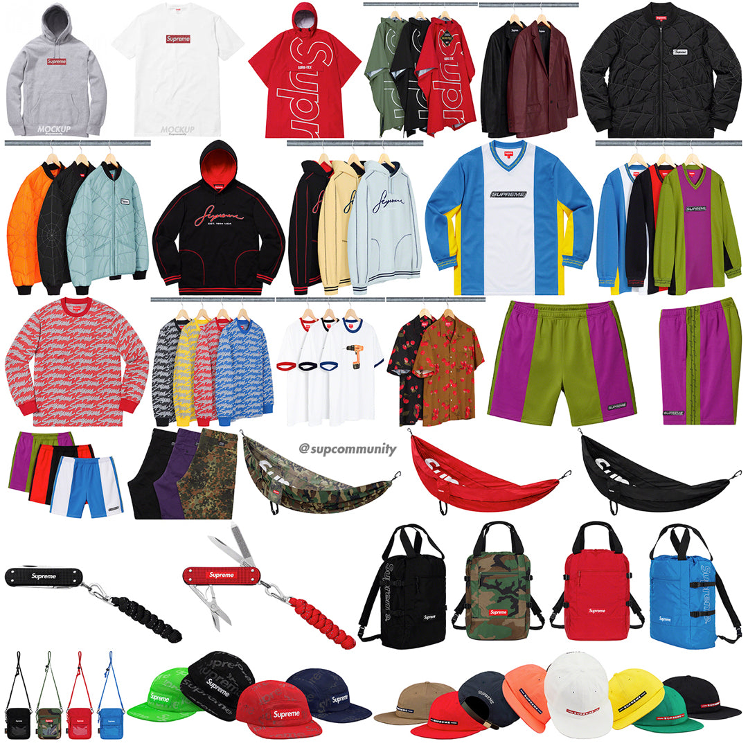 Supreme Week 9 Retail Prices and Droplist (SS19) - Swarovski Box Logo