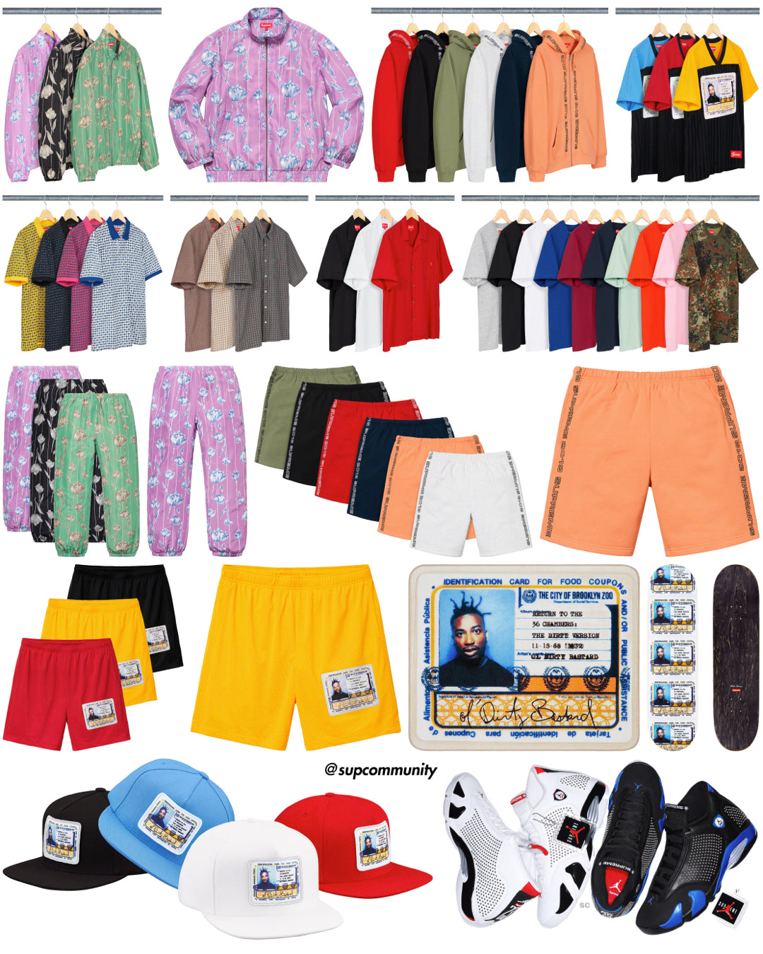 Supreme Week 16 Retail Prices and Droplist (SS19)
