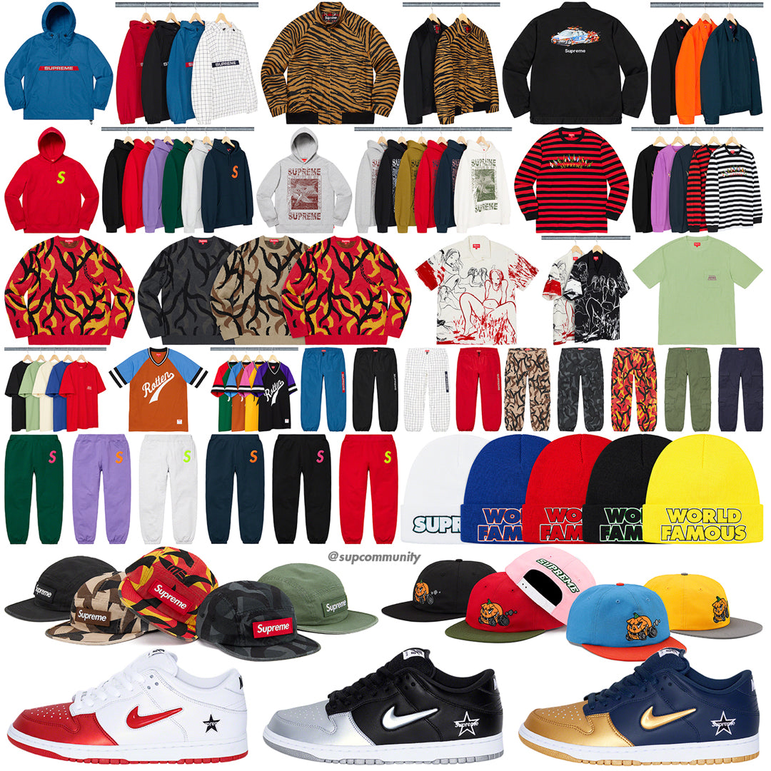 Supreme Week 2 Retail Prices and Droplist (FW19)