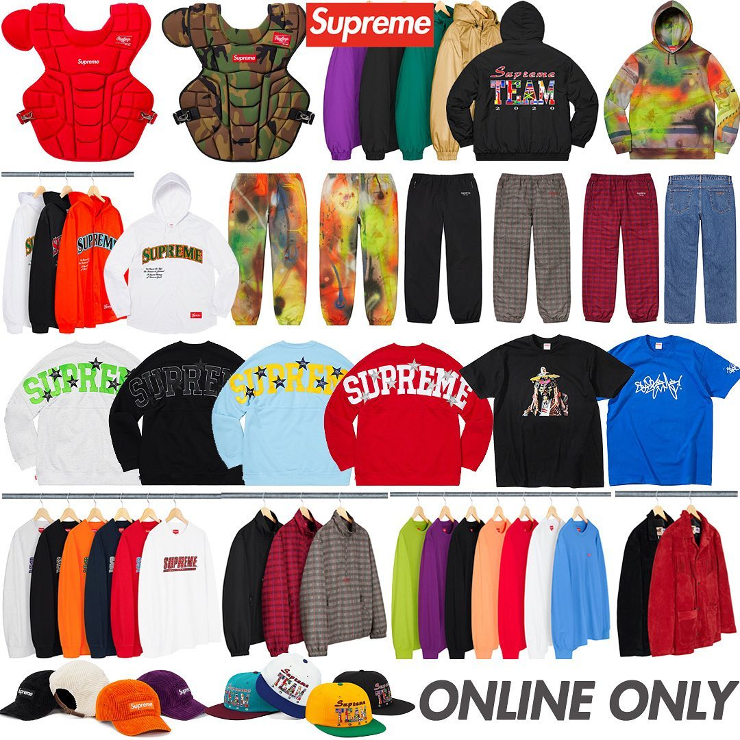 Supreme Week 4 Retail Prices and Droplist (SS20)