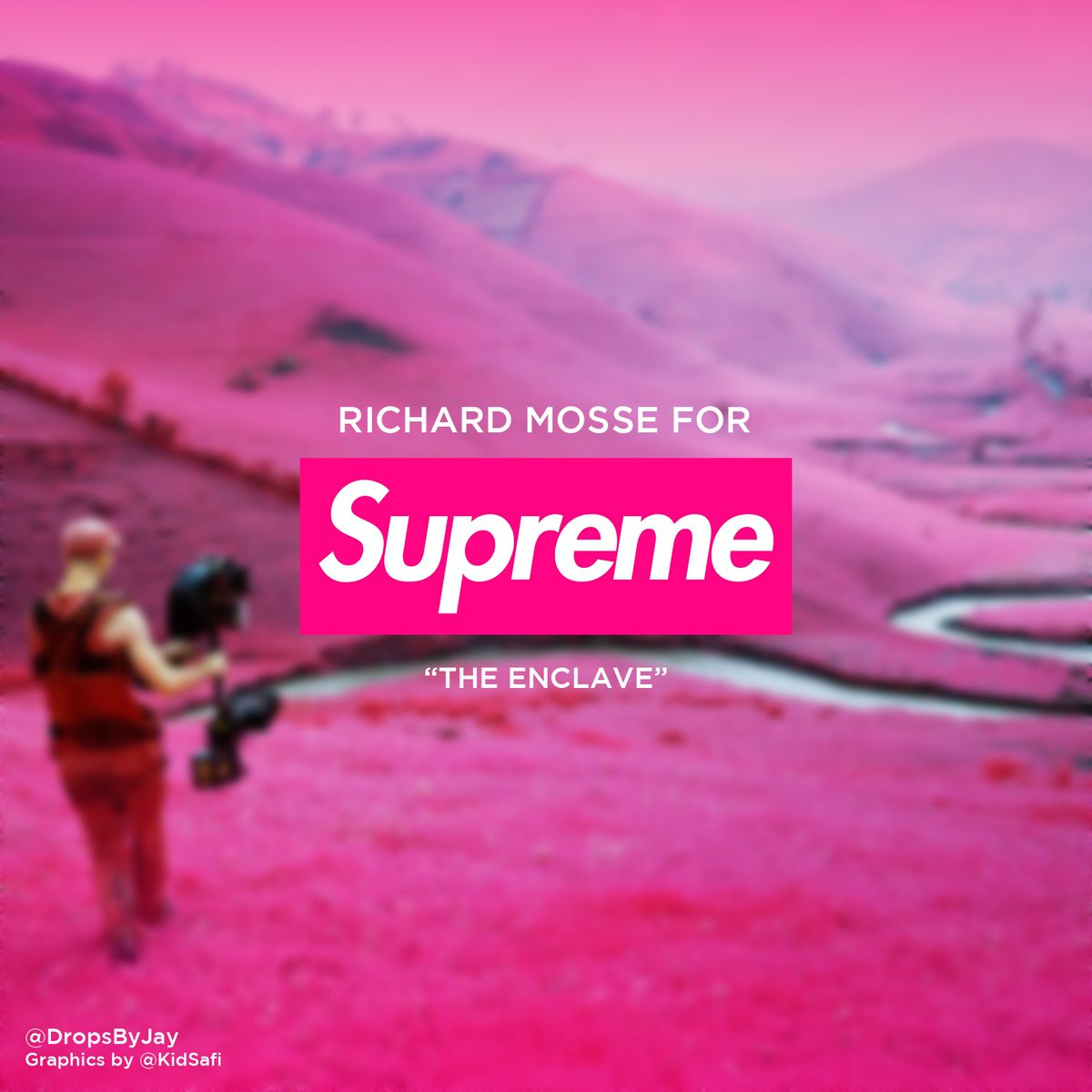 Richard Mosse x Supreme Coming in SS18 (Spring / Summer 2018)