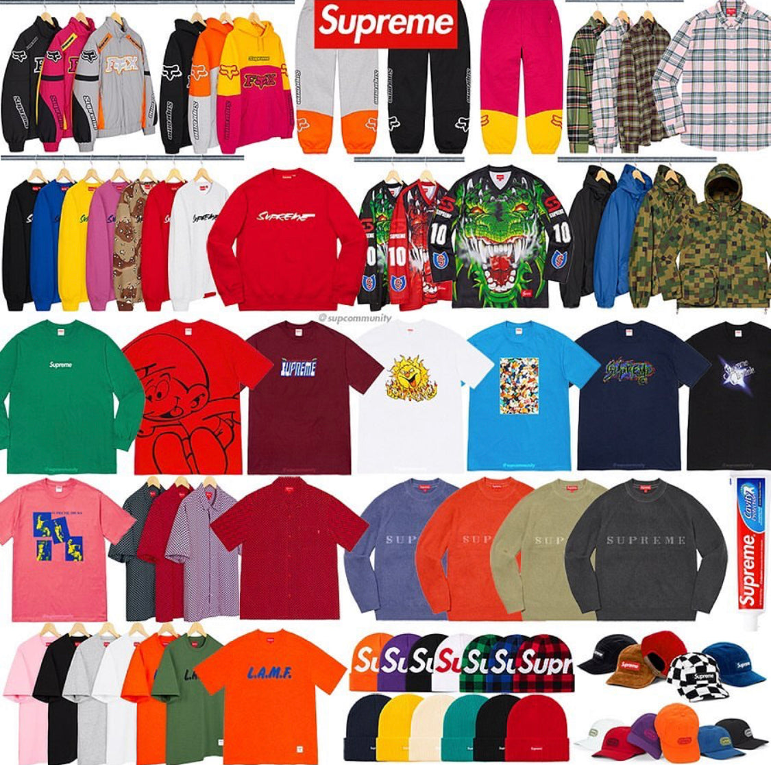 Supreme Week 7 Retail Prices and Droplist (FW20)