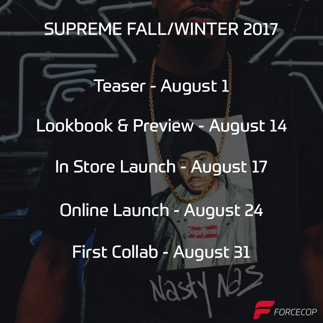 When Does the Supreme FW17 Season Start?