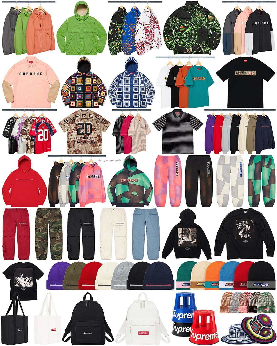 Supreme Week 5 Retail Prices And Droplist Fw20 Forcecop