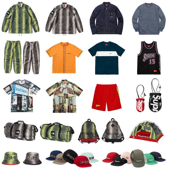 Supreme Setup Guide & Keywords Week 16 SS18 - The North Face Part 2