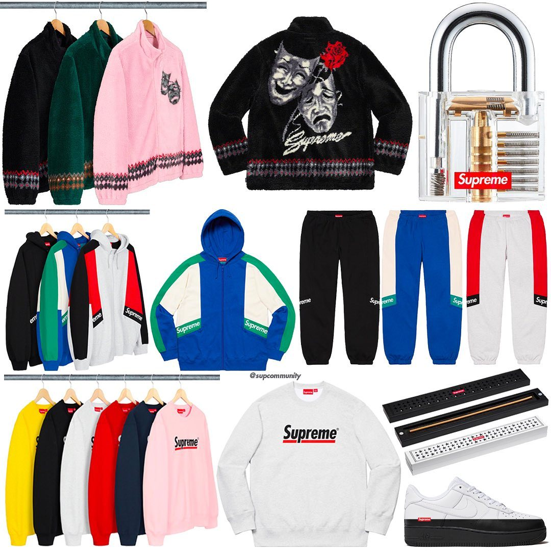 Supreme Week 2 Retail Prices and Droplist (SS20)