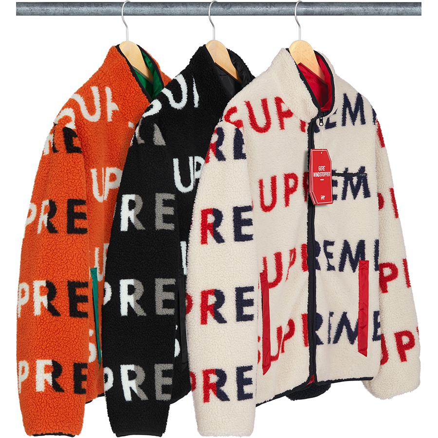 Reversible Logo Fleece Jacket