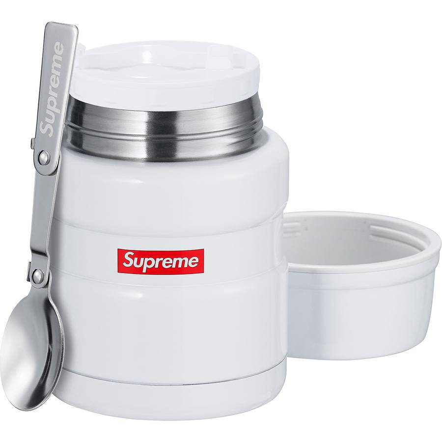 Supreme/Thermos Stainless King Food Jar + Spoon