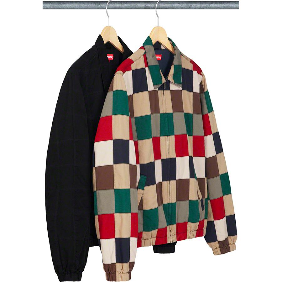 Supreme Patchwork Harrington Jacket