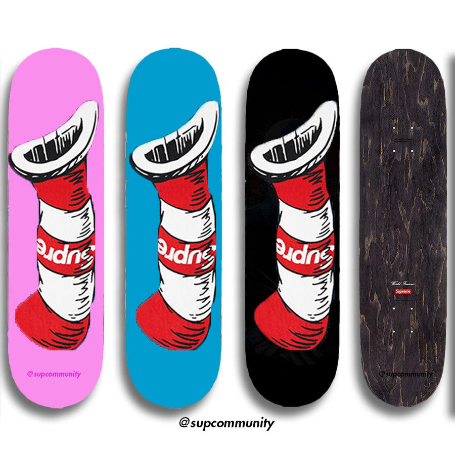 Supreme Cat in the Hat Skateboard