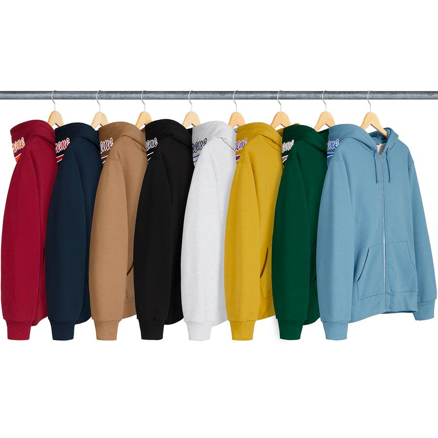 Thermal Zip Up Sweatshirt