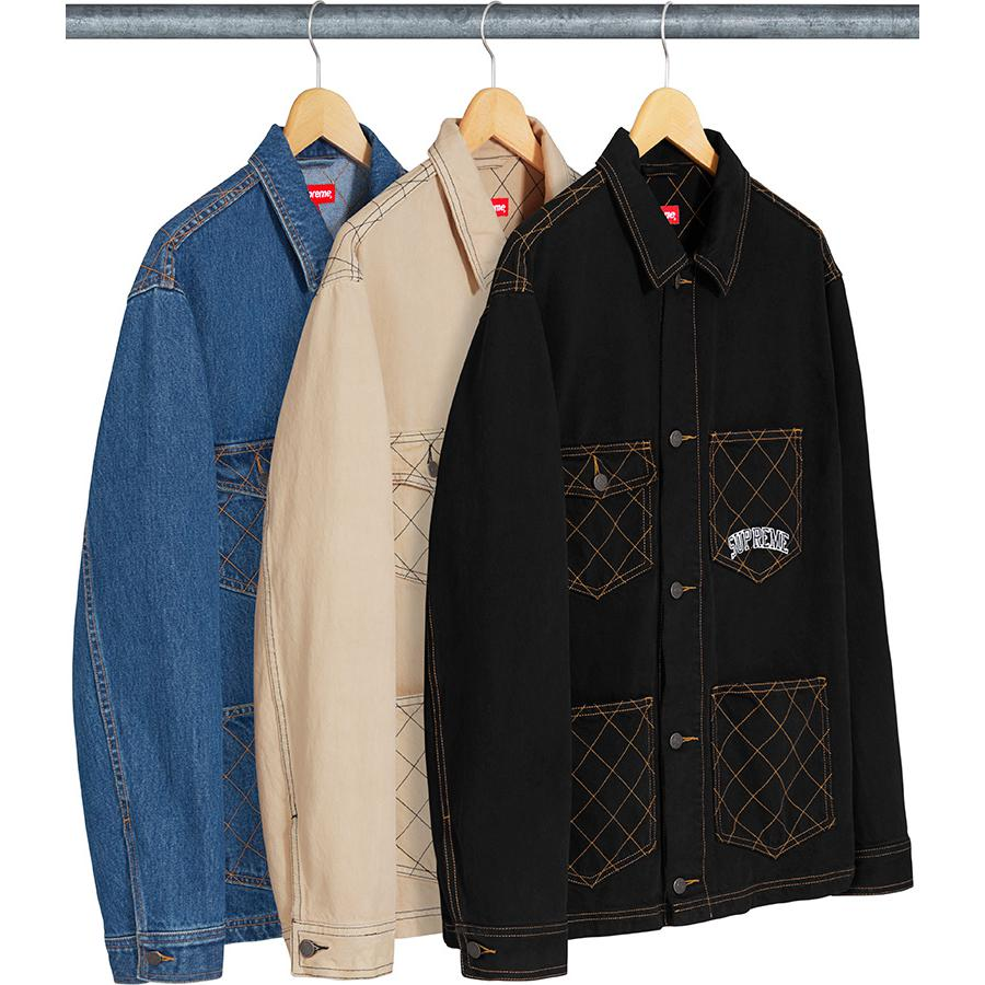 Diamond Chore Coat Supreme FW18