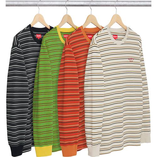 Raised Stripe L/S Top