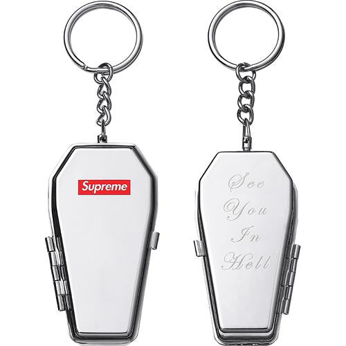Coffin Keychain