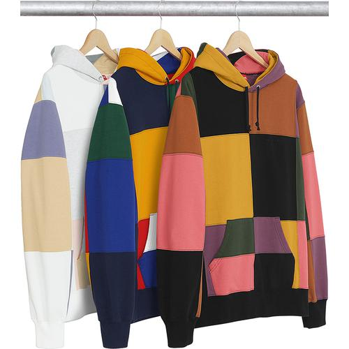 Patchwork Hooded Sweatshirt Supreme Fall/Winter 2017