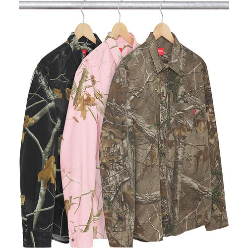 Realtree® Camo Flannel Shirt Supreme Fall/Winter 2017