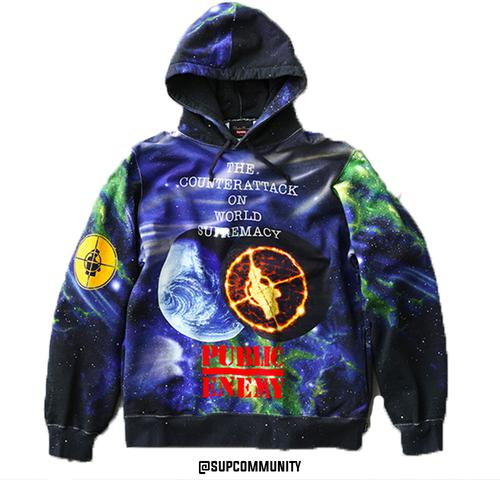 Supreme/UNDERCOVER/Public Enemy Hooded Sweatshirt