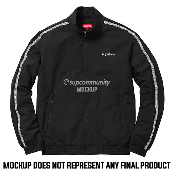 Supreme *UNSEEN* Classic Logo Taping Track Jacket