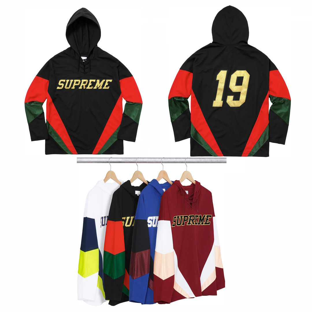 Hooded Hockey Jersey Supreme Fall/Winter 2017 (FW17)