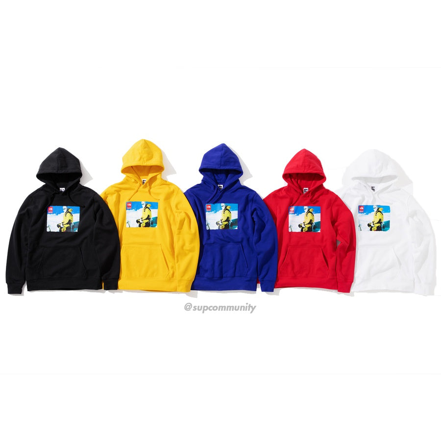 Supreme/The North Face Photo Hooded Sweatshirt