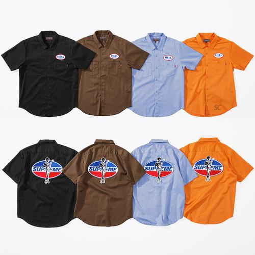 Supreme/HYSTERIC GLAMOUR S/S Work Shirt