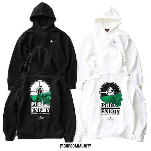 Supreme/UNDERCOVER/Public Enemy Terrordome Hooded Sweatshirt