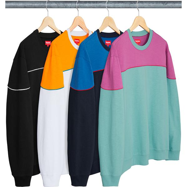 Supreme Yoke Piping L/S Top