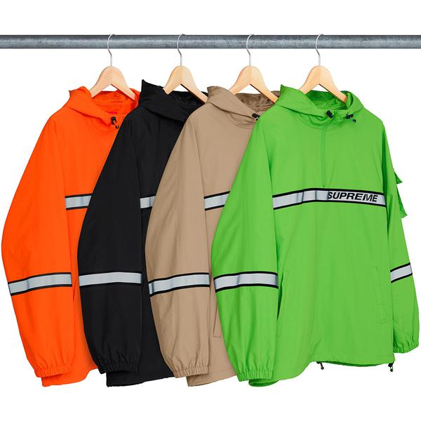 Supreme Reflective Taping Hooded Pullover