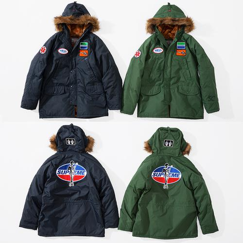 Supreme/HYSTERIC GLAMOUR N-3B Parka