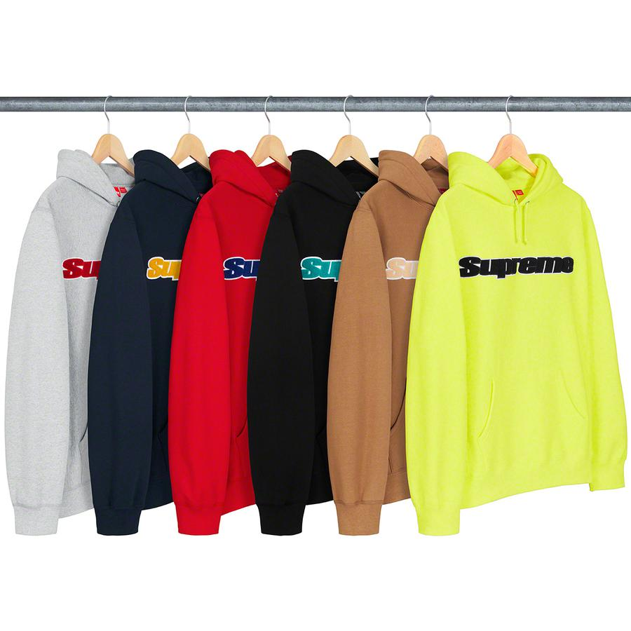 Supreme Chenille Hooded Sweatshirt