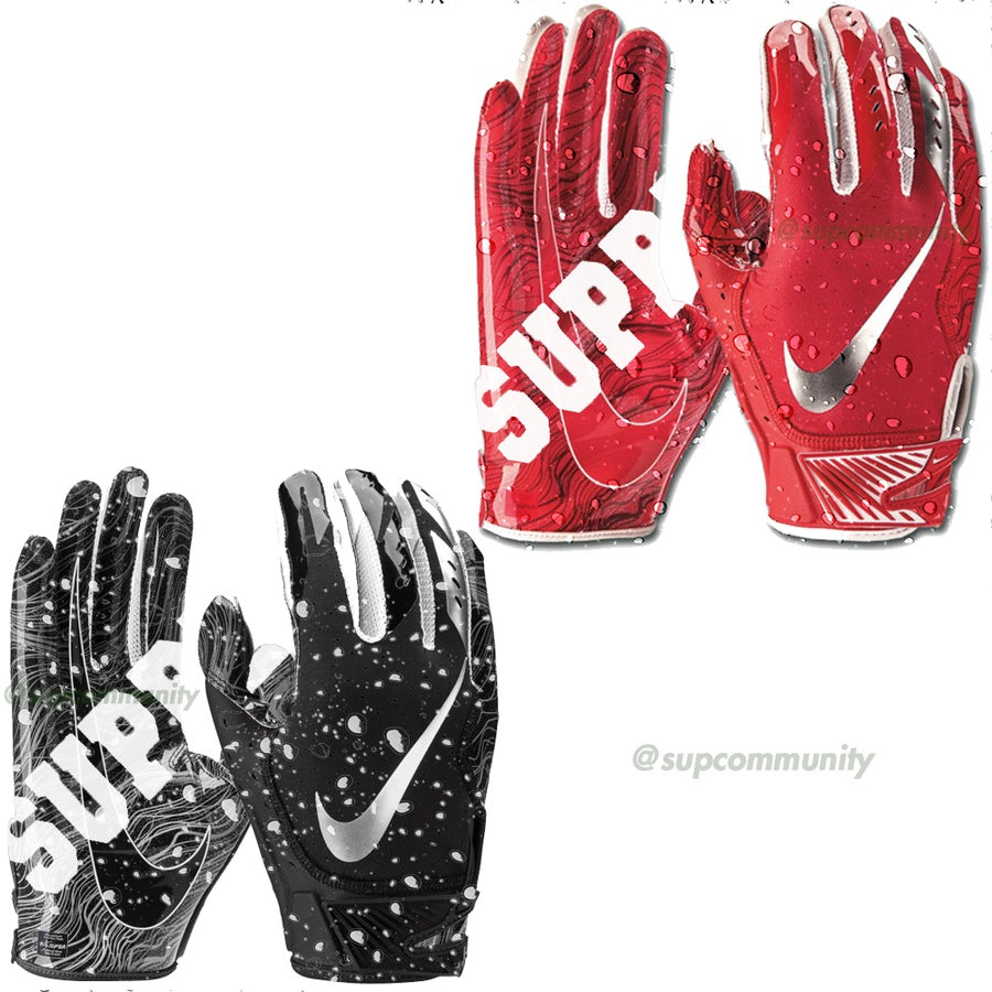 Supreme Nike Vapor Jet Football Gloves