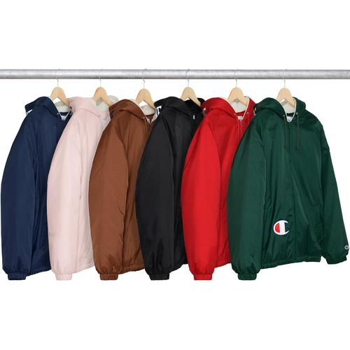 Supreme®/Champion® Sherpa Lined Hooded Jacket