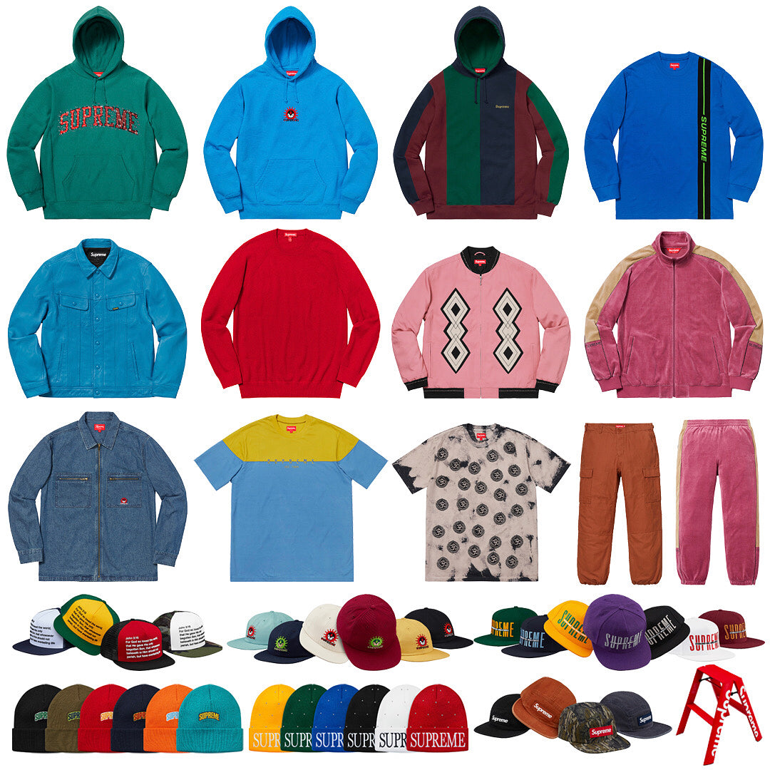 Supreme Keyword and Setup Guide Week 2 FW18