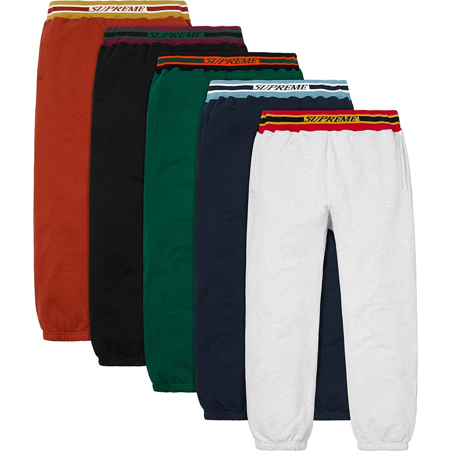 Supreme Striped Rib Sweatpant