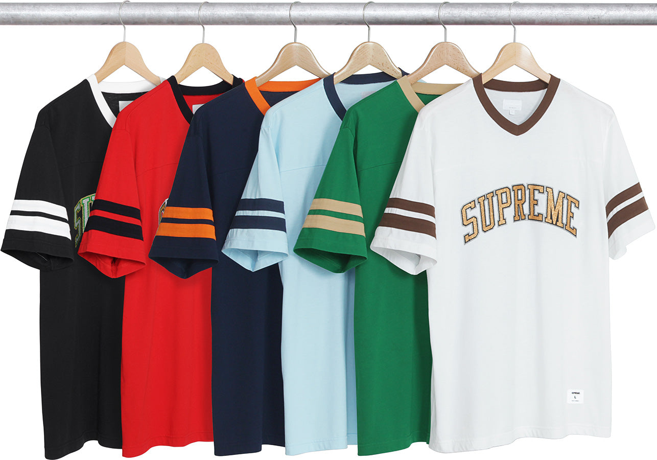 Glitter Arc Football Top Supreme FW17
