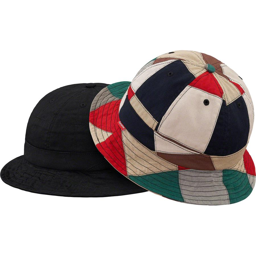Supreme Patchwork Bell Hat