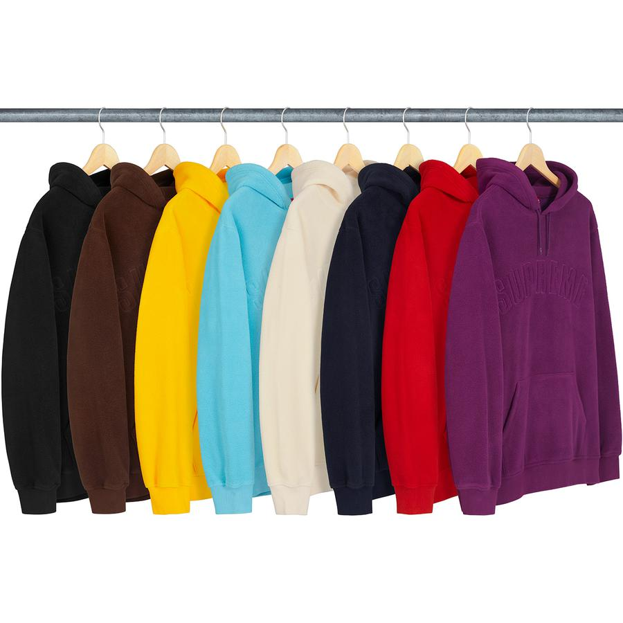 Supreme Polartec Hooded Sweatshirt